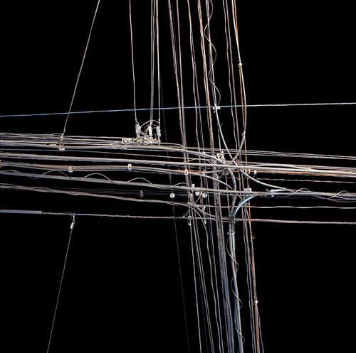 我也照过很多电线的照片