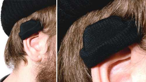 耳朵戴帽子比人戴的还好看