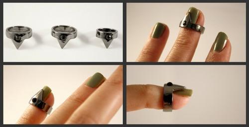 无名指和拇指没有戴指尖环的权利