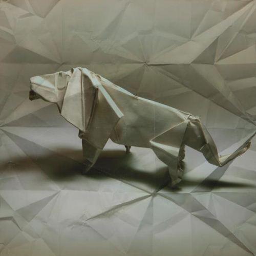 折纸狮子步骤图