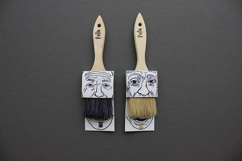 再看,再看我就把你的胡子剪掉!