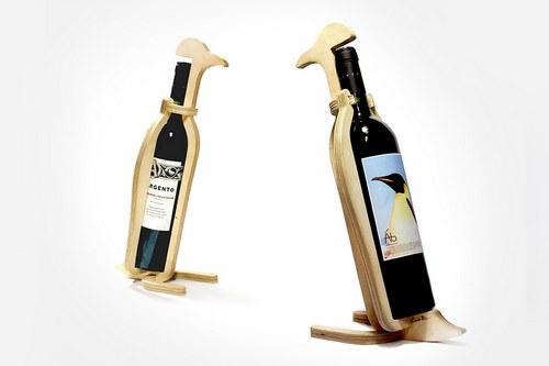 还真的有瓶身上印企鹅的酒