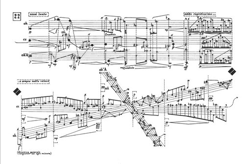 斯托克豪森的乐谱完全是艺术品。