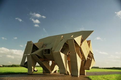 这个好像移动的现代建筑。