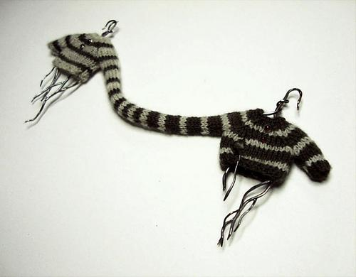 织毛衣是一门手工艺术,讲究说学逗唱