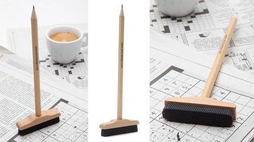 这么可爱的铅笔,除了写起来不舒服、不太好找地方放以及其他百来个麻烦以外简直没缺点啦