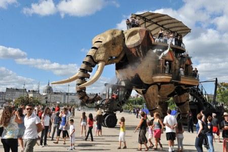 如果公园里有这个大象,我是一定要去的!