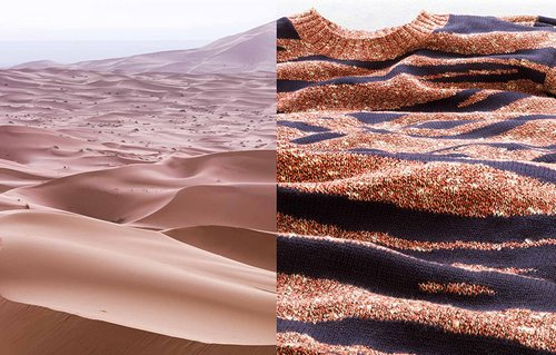 右边这件毛衣我似乎有一件。