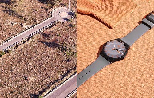 右图的swatch我有一条同款,便宜又好看。