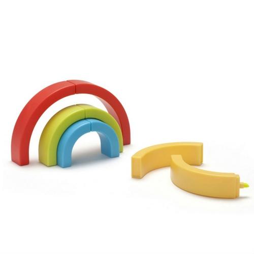 似乎另半边的彩虹只是当笔帽用