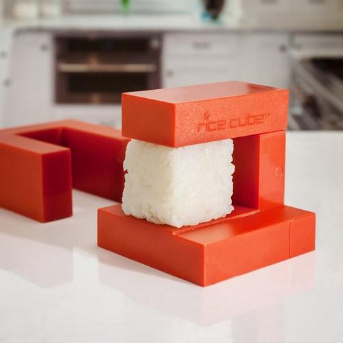 不过方形的寿司我还真没见过太多