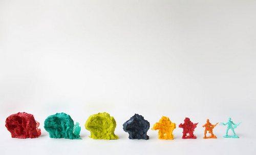 从野兽进化成……玩具兵