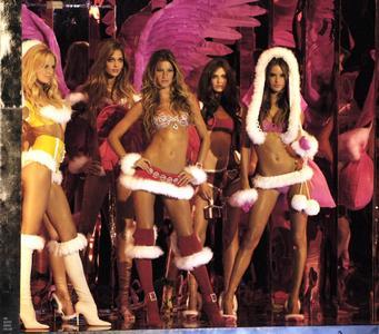 维多利亚的秘密内衣秀,2005年。