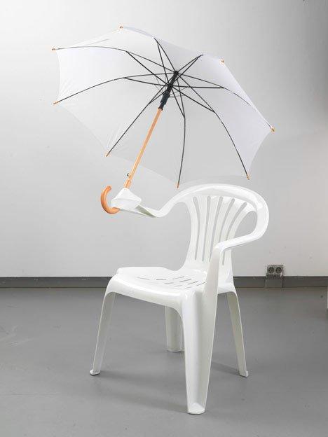 功能也变多了,伞真的可以固定上么?