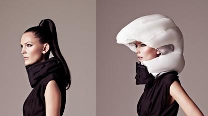 这张图解决了我长久以来的困惑:梳马尾辫要怎么戴帽子