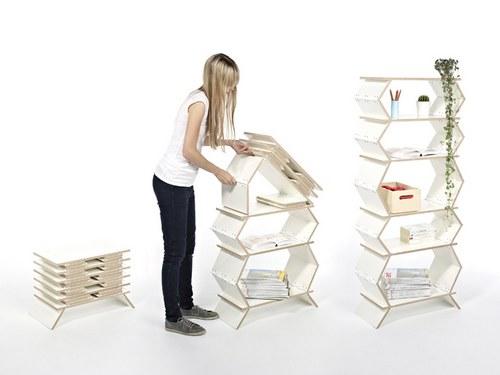 一个凳子是怎么从一张桌子变成一个柜子的。