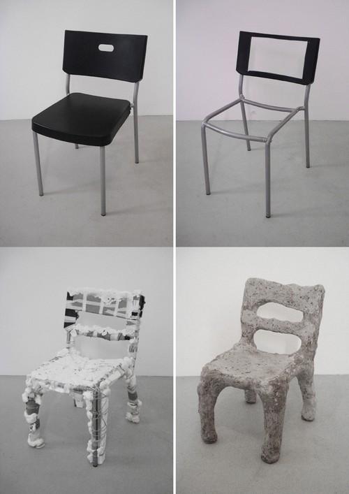 我还是比较喜欢原来那把椅子。