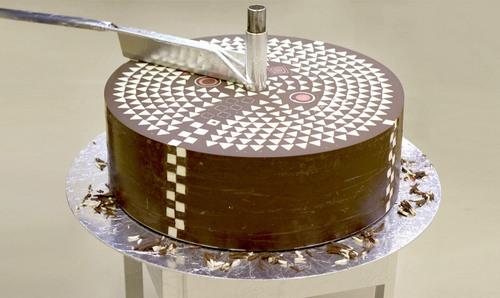高级的切糕。