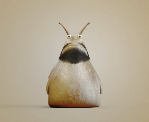 """有的人(几分钟前的我)说""""蜗牛眼睛是长在触角上的"""",不过眼睛长触角上的蜗牛通常有两对触角"""