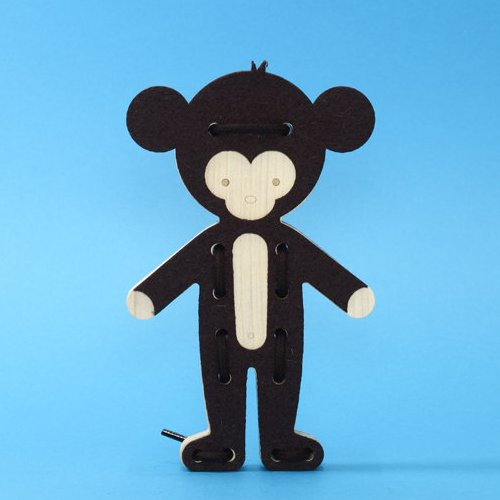 这个说是猴子可我觉得像熊