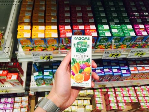 明明也是混合蔬菜果汁,但是搭配用点心还是可以很好喝的!